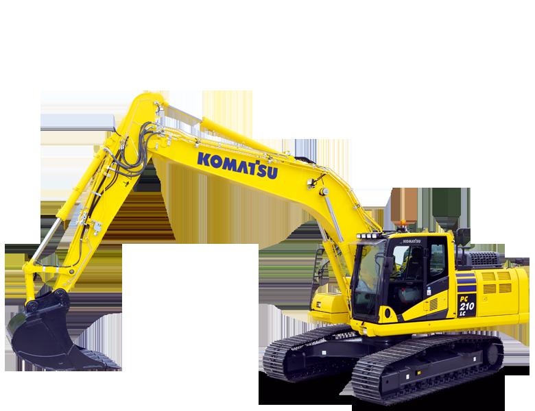 Komatsu_210_excavator